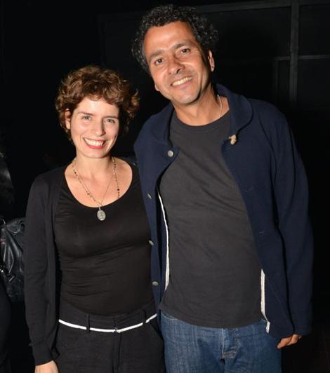 Gabriela Gastal e o marido, o ator Marcos Palmeira (Foto: Cristina Granato)