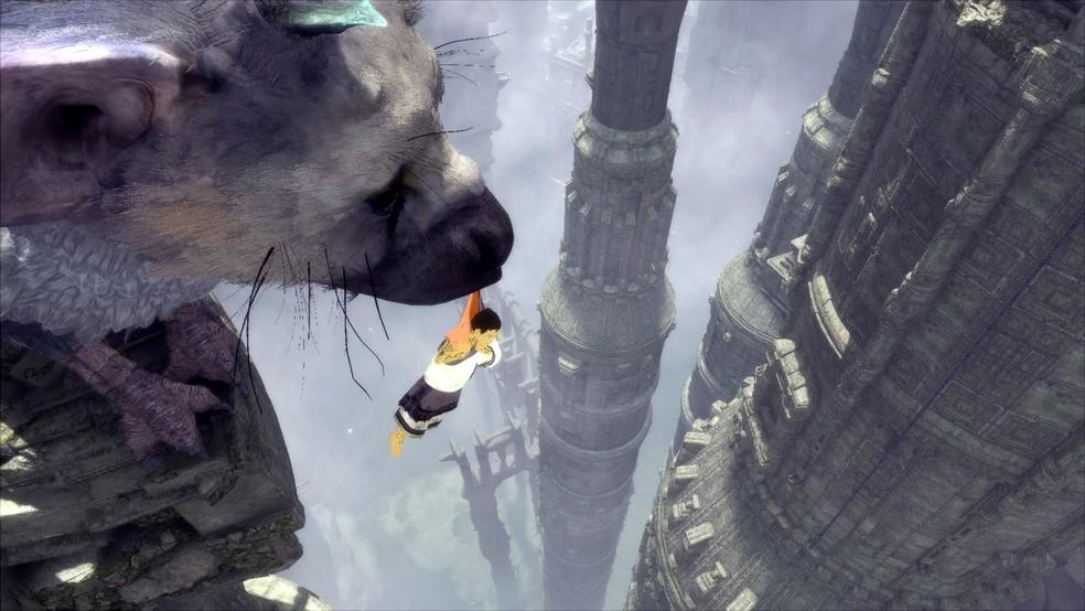 'The Last Guardian' explora relação entre jovem protagonista e criatura mística chamada 'Trico' (Foto: Divulgação/Sony)
