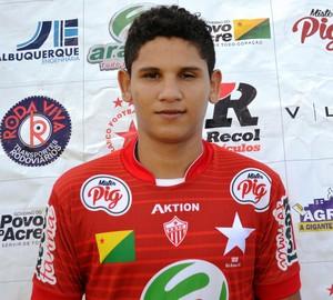 Sem emprego formal, atacante de 19 anos sonha com sucesso na Copa São Paulo 2015 (Foto: Duaine Rodrigues)