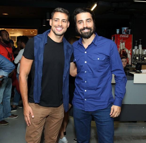 Cauã Reymond e Ricardo Pereira (Foto: Marcello Sá Barretto/AgNews)