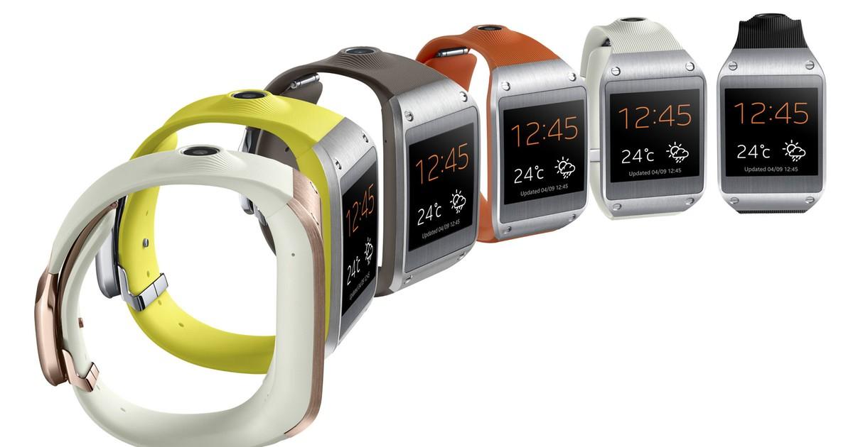Relógio inteligente da Samsung chega ao Brasil em 5 de outubro