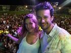 À vontade, famosos curtem show do Garota Safada em Coruripe