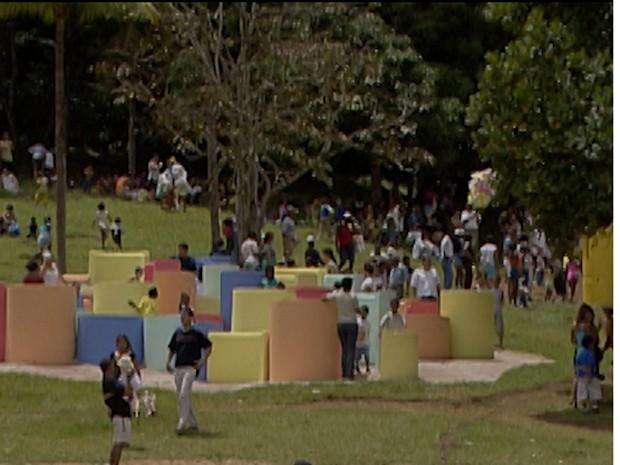 parque da cidade (Foto: Imagens/ TV Bahia)