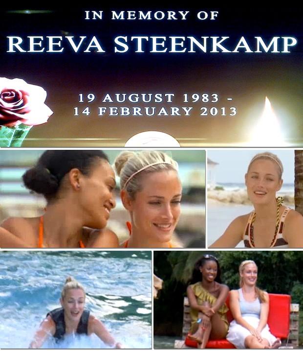 Reeva Steenkamp programa TV Oscar Pistorius assassinato (Foto: Reprodução)