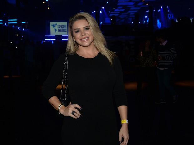 Mari Alexandre em show em São Paulo (Foto: Francisco Cepeda/ Ag. News)