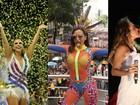 Ivete Sangalo na Sapucaí é eleito o momento mais marcante do Carnaval