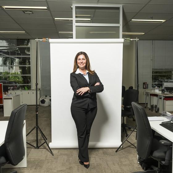 Rosilane Purcetia. Diretora de RH da empresa Genzyme. (Foto: Gabriel Rinaldi/ Epoca)