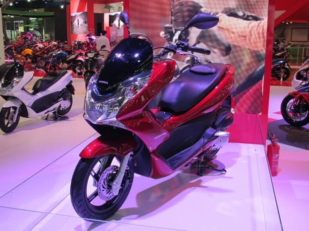 Honda PCX (Foto: Rafael Miotto/G1)