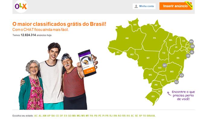Recurso já está disponível na versão brasileira do site e aplicativo (Foto: Reprodução/OLX) (Foto: Recurso já está disponível na versão brasileira do site e aplicativo (Foto: Reprodução/OLX))