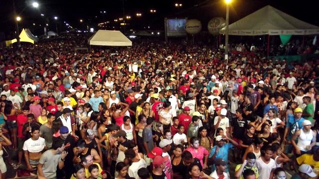 Ensaio Geral agita os foliões em Parnamirim (Foto: Jocaff Souza/G1)