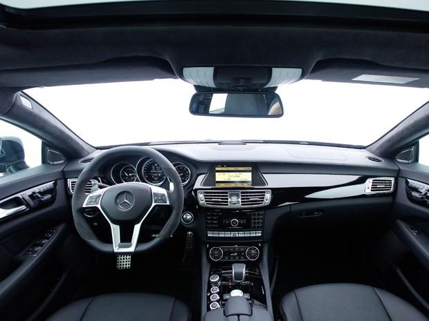 Auto esporte primeiras impress es mercedes benz cls 63 amg for Mercedes g interno
