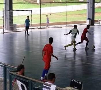 Sub-16 de Futsal da Liga Acreana (Foto: Elliton Batista/Arquivo Pessoal)