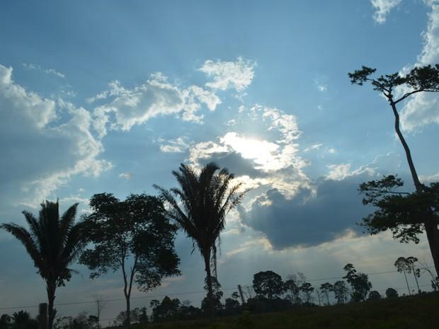 Tempo ro ariquemes (Foto: Jonatas Boni/ G1)