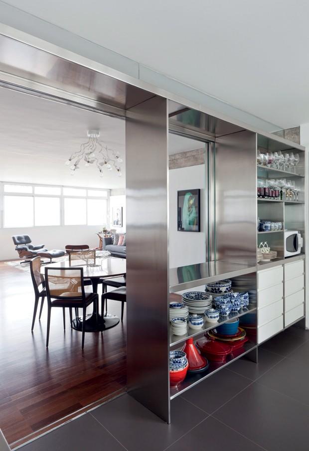 cozinha; Pablo Alvarenga; AMZ Arquitetos (Foto: Maíra Acayaba / Editora Globo)