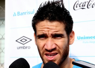 Marcelo Oliveira Grêmio entrevista coletiva (Foto: Eduardo Deconto/GloboEsporte.com)