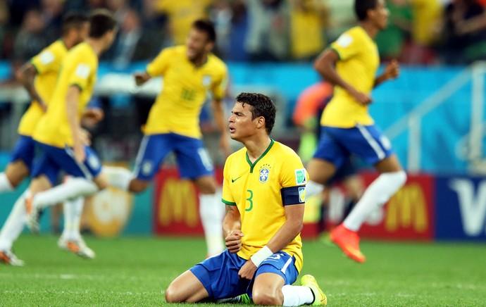 Thiago Silva Brasil x Croácia Copa do Mundo (Foto: Marcos Ribolli)