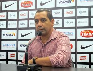 Zinho novo gerente de futebol do Santos (Foto: Fernando Prandi)