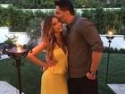 Sofia Vergara completa 43 anos e ganha beijo de Joe Manganiello