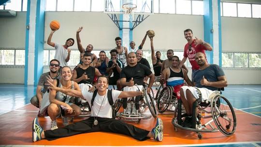 Atletas paralímpicos dão depoimentos exclusivos nos bastidores de 'Totalmente Demais'