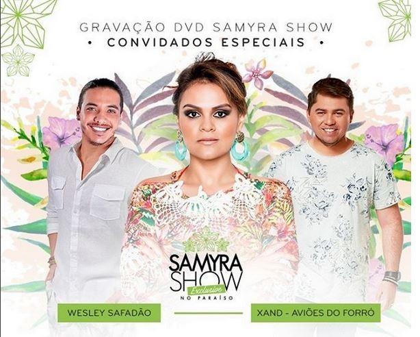 Safadão, Samira e Xand (Foto: reprodução/instagram)
