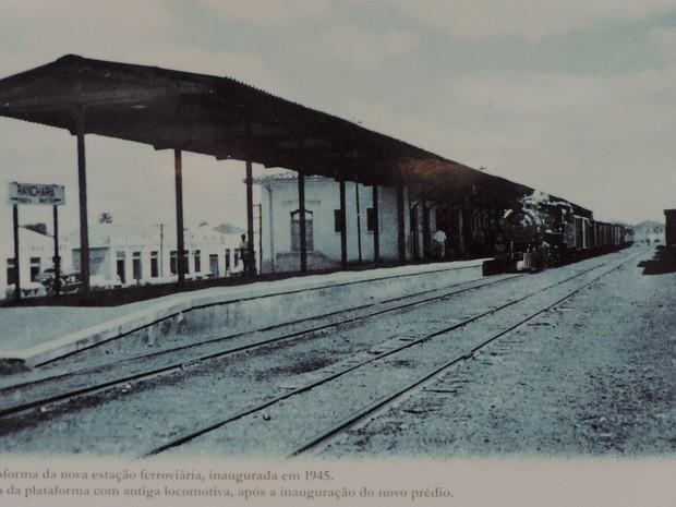Trecho entre Assis e Bartira foi inaugurado em 1916 (Foto: Reprodução/Acervo Museu Municipal de Rancharia)