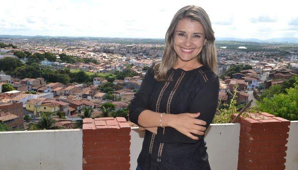 Priscilla Bitencourt realizou um intercâmbio no Bem Estar (Foto: Divulgação / TV Sergipe)