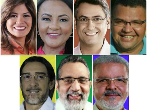 Candidatos, Macapá, eleições municipais 2016, eleições 2016, Amapá, (Foto: Arte/G1)