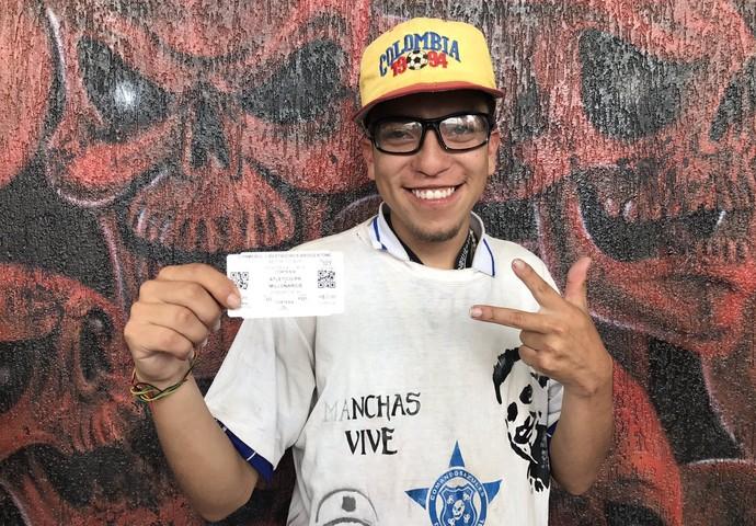 Ivan Jimenez, Millonarios (Foto: Gabriela Ribeiro)