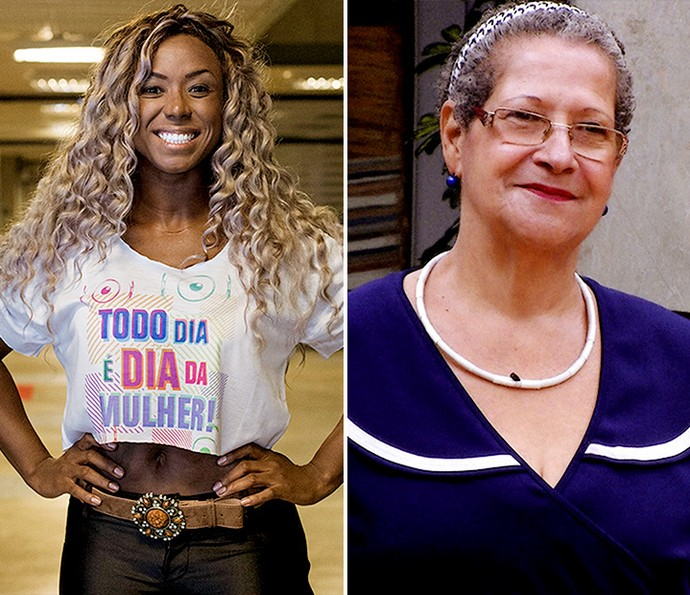 Adélia rebateu as criticas que geralda fez contra ela (Foto: TV Globo)