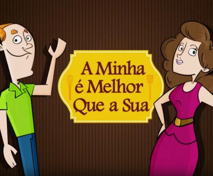 A Minha é Melhor que a Sua cortada (Foto: TV Globo)