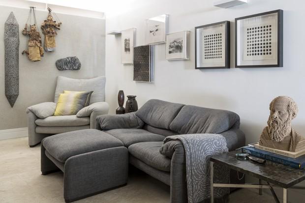Apartamento paulistano une arte, design e natureza (Foto: Júlia Ribeiro/ Divulgação)