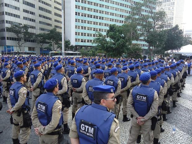 Guarda Municipal formou 404 agentes que vão compor o novo Grupamento Tático Móvel  (Foto: Divulgação / Guarda Municipal)