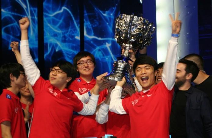 SKT busca repetir vitória do Mundial de LoL de 2013 (Foto: Reprodução/Felipe Vinha)