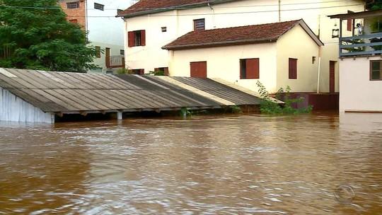 Em dia de chuva intensa, sobe para 41 cidades em situação de emergência no Rio Grande do Sul