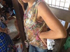 Mãe disse que filho foi espancado ao menos 3 vezes (Foto: Dyepeson Martins/G1)