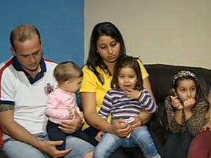 Casa é dominada por meninas em Itapetininga (Foto: Lucas Cerejo/TV TEM)