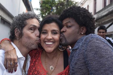 Estevão Ciavatta, Regina Casé e Xande de Pilares (Foto: Divulgação)
