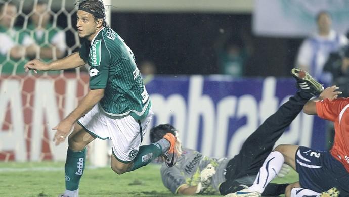 Goiás x Independiente - 2010 - Copa Sul-Americana (Foto: Weimer Carvalho / O Popular)