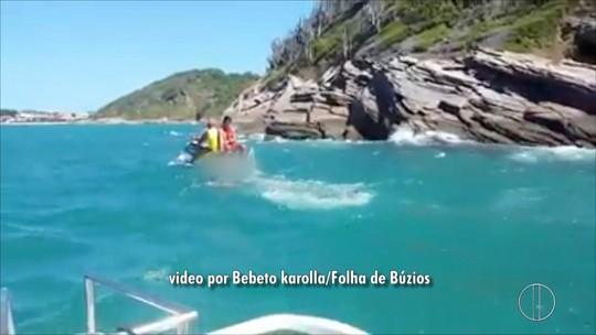 Homem aparece morto em mar de Búzios, no RJ