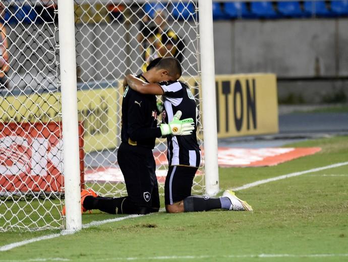 Renan Botafogo x Fluminense (Foto: André Durão - Globoesporte.com)