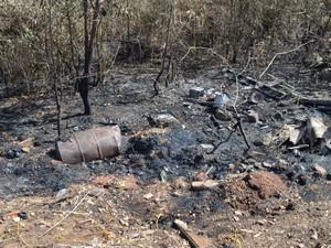 A área onde o incêndio aconteceu está localizada na Rodovia do Café (Foto: Marcelo Nery/Arquivo Pessoal)