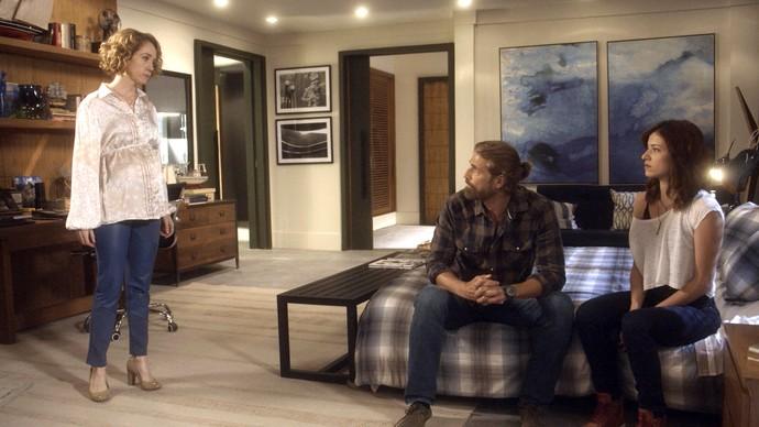 Vitória promete descobrir a verdade sobre a mãe de Ciro (Foto: TV Globo)