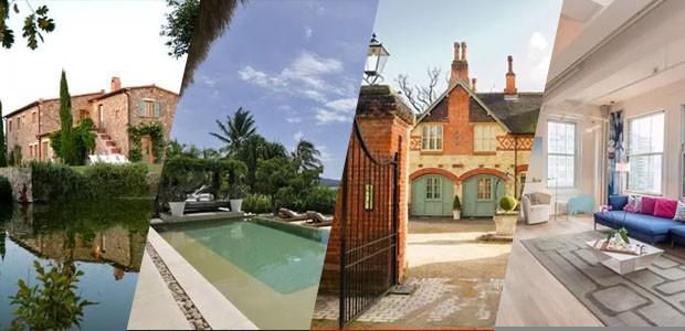7 residências luxuosas para você aproveitar as férias (Foto: Divulgação)