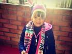 Ticiane Pinheiro mostra filha indo para escola: 'Amo absurdamente'