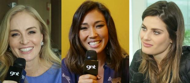 Daniele Suzuki, Isabeli Fontana e Anglica fala sobre maternidade, carreira e beleza (Foto: GNT)