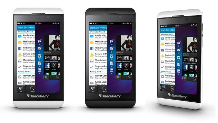 Sistema BlackBerry 10 tem interface mais simples (Foto: Divulgação/BlackBerry)