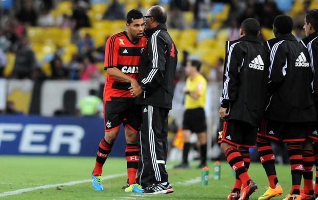 André Santos e Jayme de Almeida gol Flamengo (Foto: André Durão / Globoesporte.com)