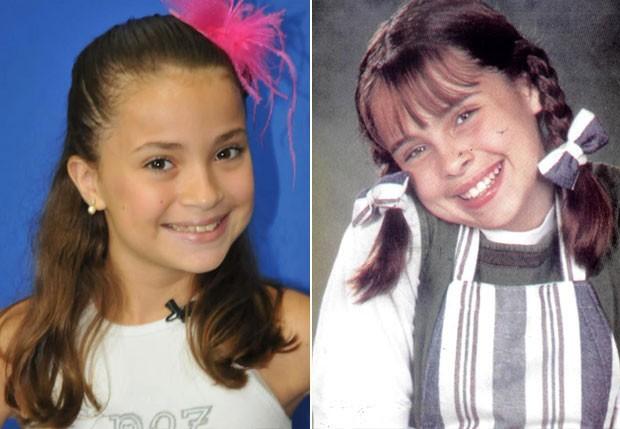 BIA: A vilãzinha da primeira temporada, vivida por Gisele Frade em 1997, será de Rayssa Chaddad (Foto: Reprodução)