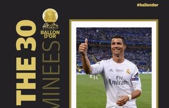 Cristiano Ronaldo, Gareth Bale e Aguero são indicados à Bola de Ouro