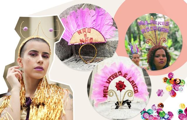 Carnaval feminista (Foto: Divulgação/ Reprodução)